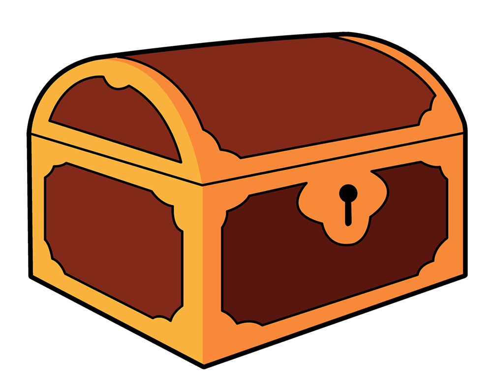 Free to Use & Public Domain Treasure Chest Clip Art.