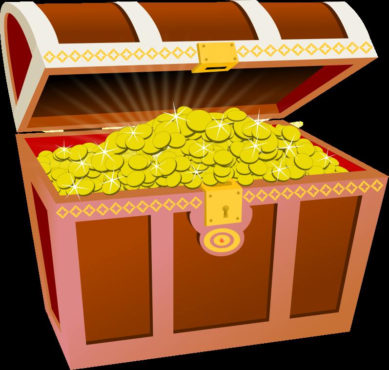 Treasure Box Clipart.