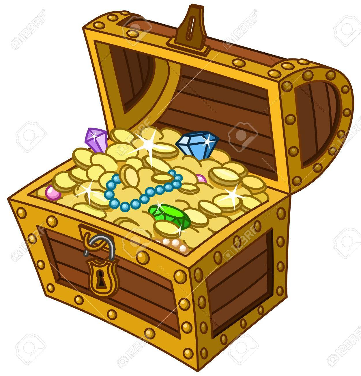 Treasure chest » Clipart Portal.