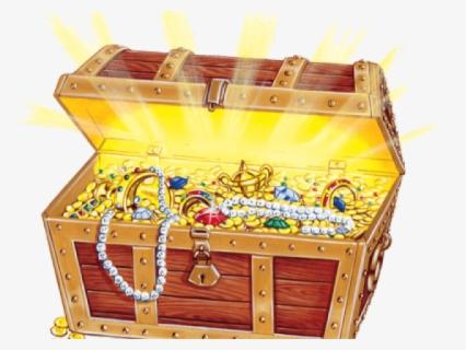 Free Treasure Box Clip Art with No Background.