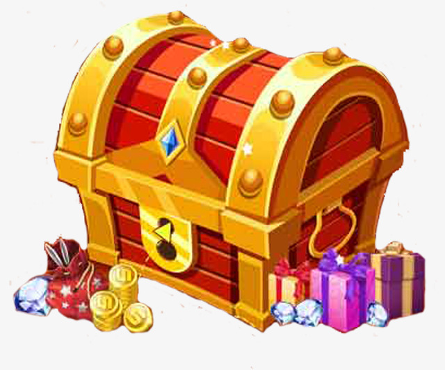 Toy Treasure Chest Clipart.