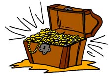 Treasure clipart stock clipart a treasure chest 2.