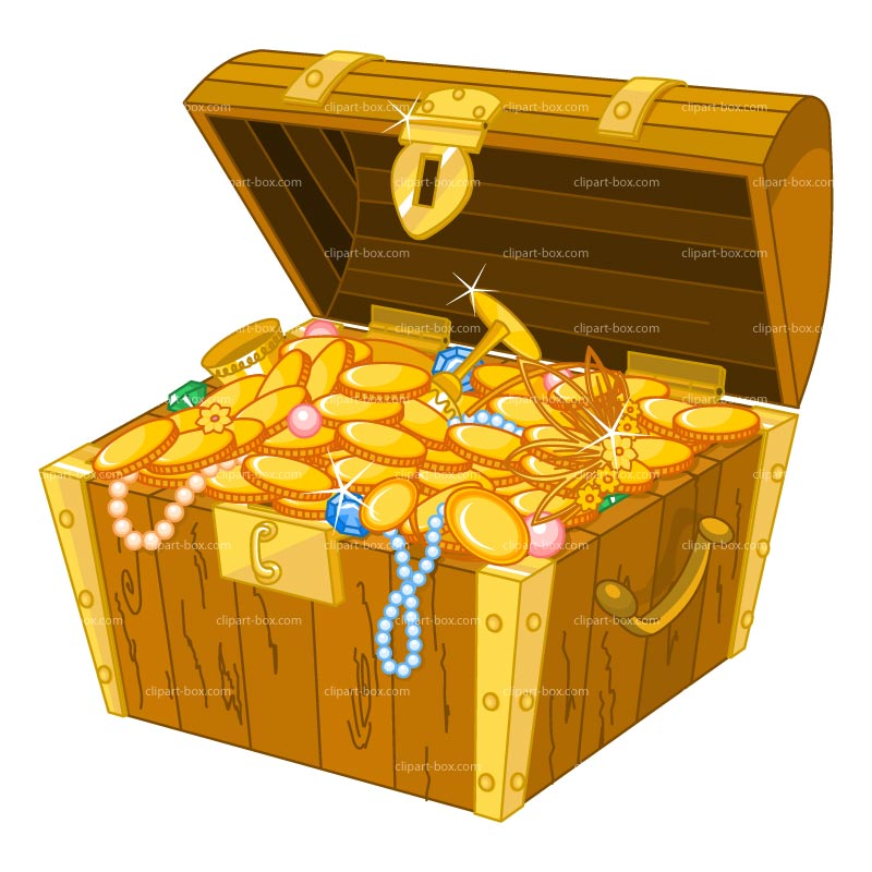 Treasure Box Clipart.