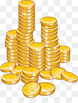 480 Gold Coin free clipart.