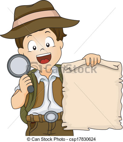 Treasure hunt clipart #2