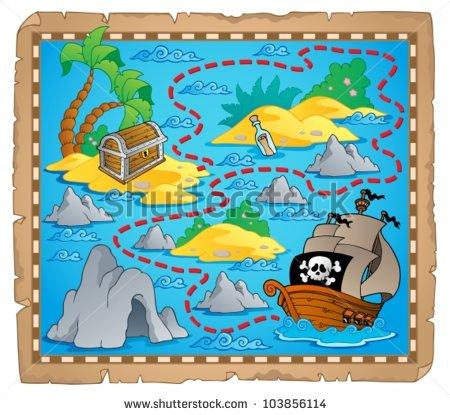 Treasure Island Map Clipart Clipground