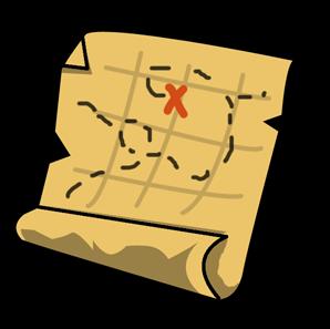 Treasure map clipart - Clipground