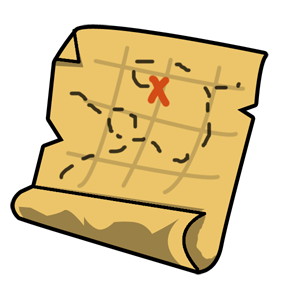 Free to Use & Public Domain Treasure Map Clip Art.