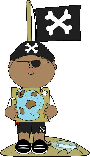 Pirate treasure map..
