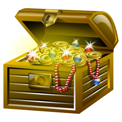 Download TREASURE Free PNG transparent image and clipart.