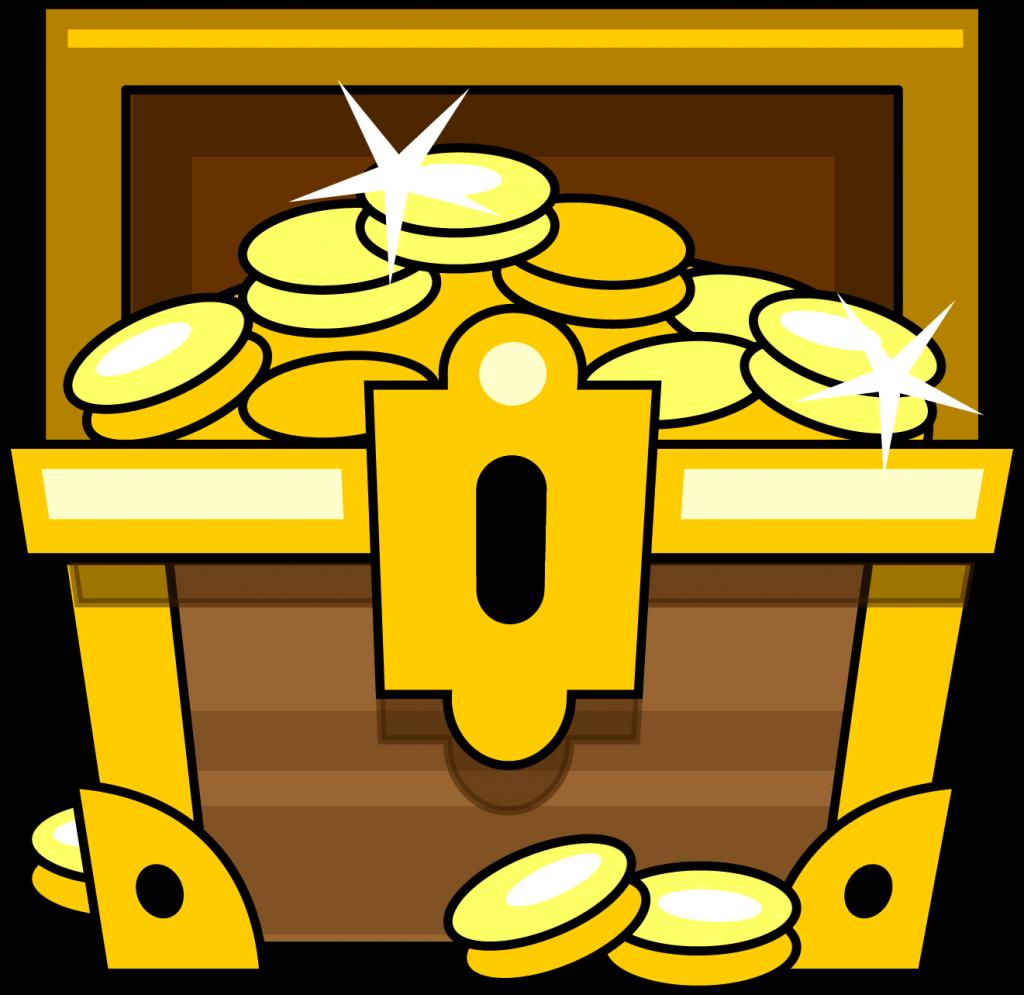 Treasures Clipart.
