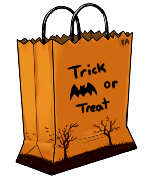 Trick or treat bag clipart » Clipart Station.