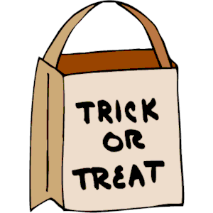 Trick or treat bag clipart 2 » Clipart Station.