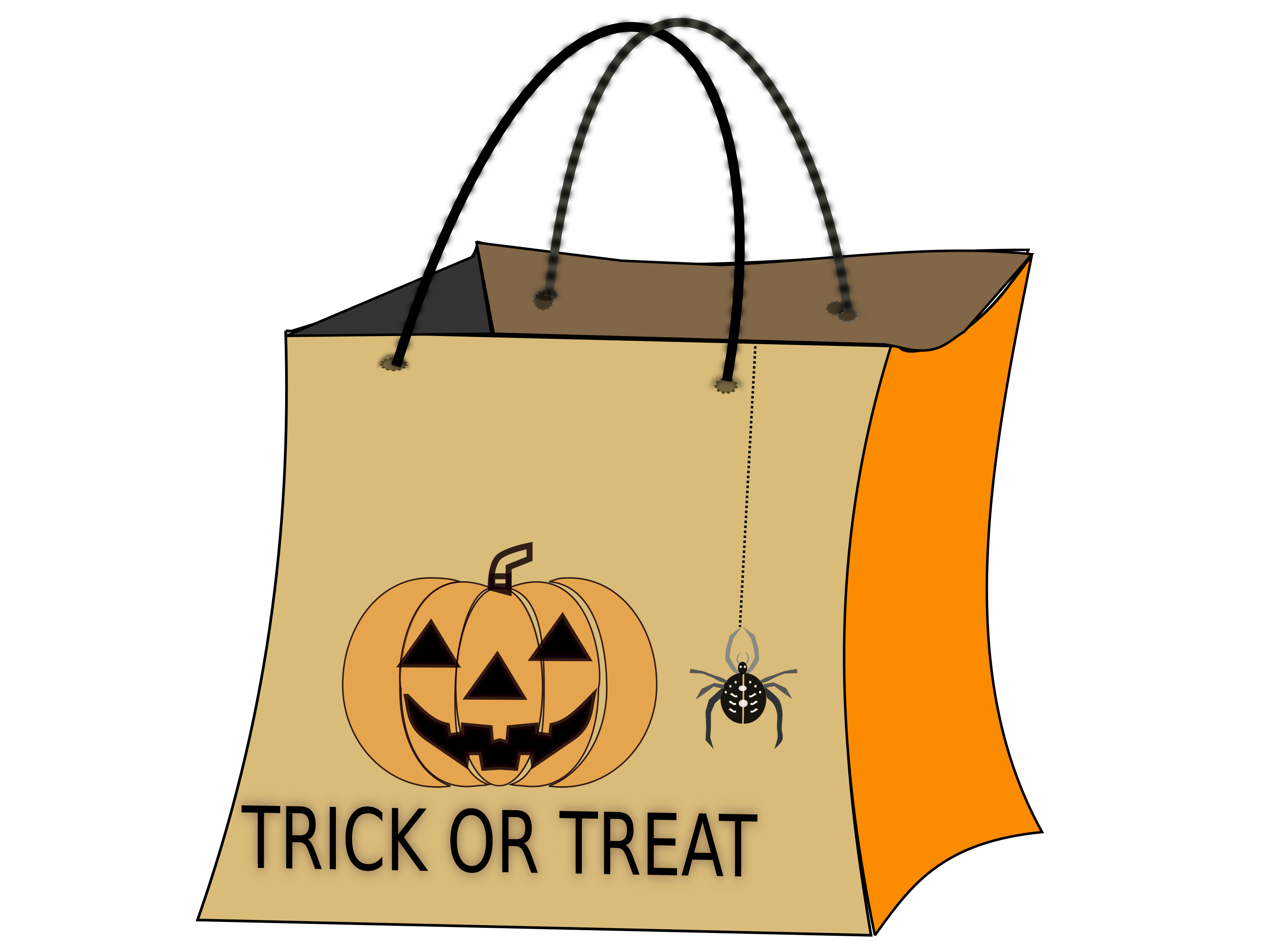 Trick or treat bag clipart 5 » Clipart Station.