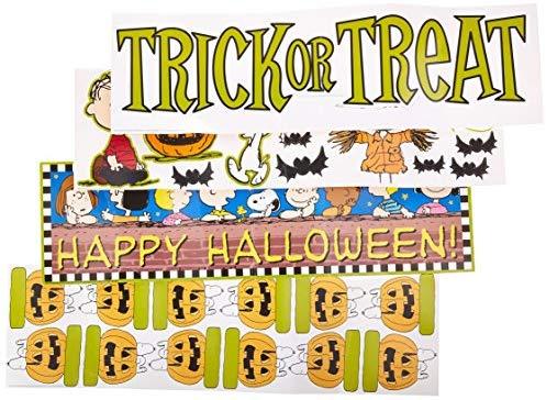 Eureka Peanuts Halloween \'Trick or Treat\' Mini Bulletin.