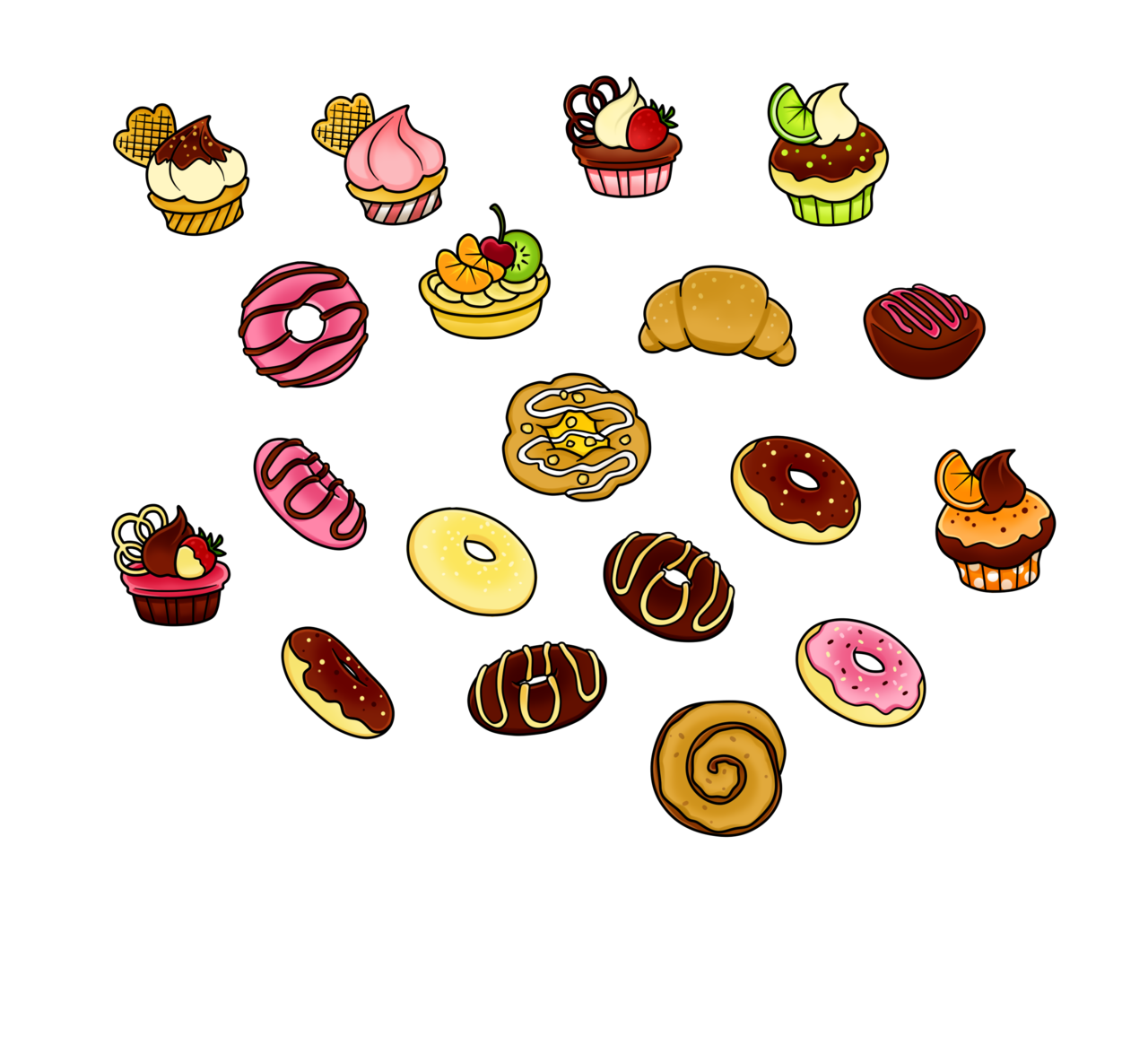 Treats Clipart.