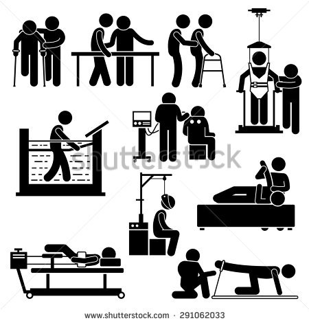 Physiotherapy Stock Photos, Royalty.