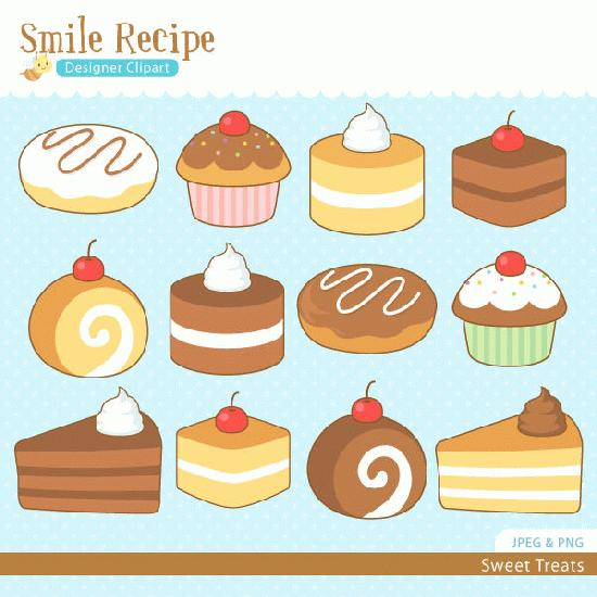 Sweet Treats Clipart.