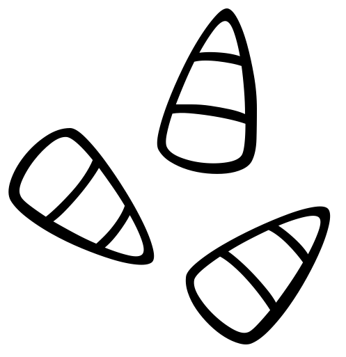 Clip Art Black And White Christmas Treats Clipart.
