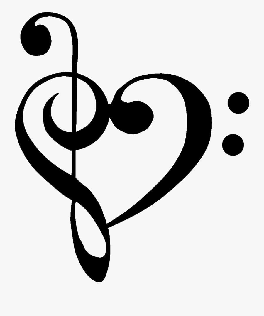 Treble Clef And Cross Clipart.