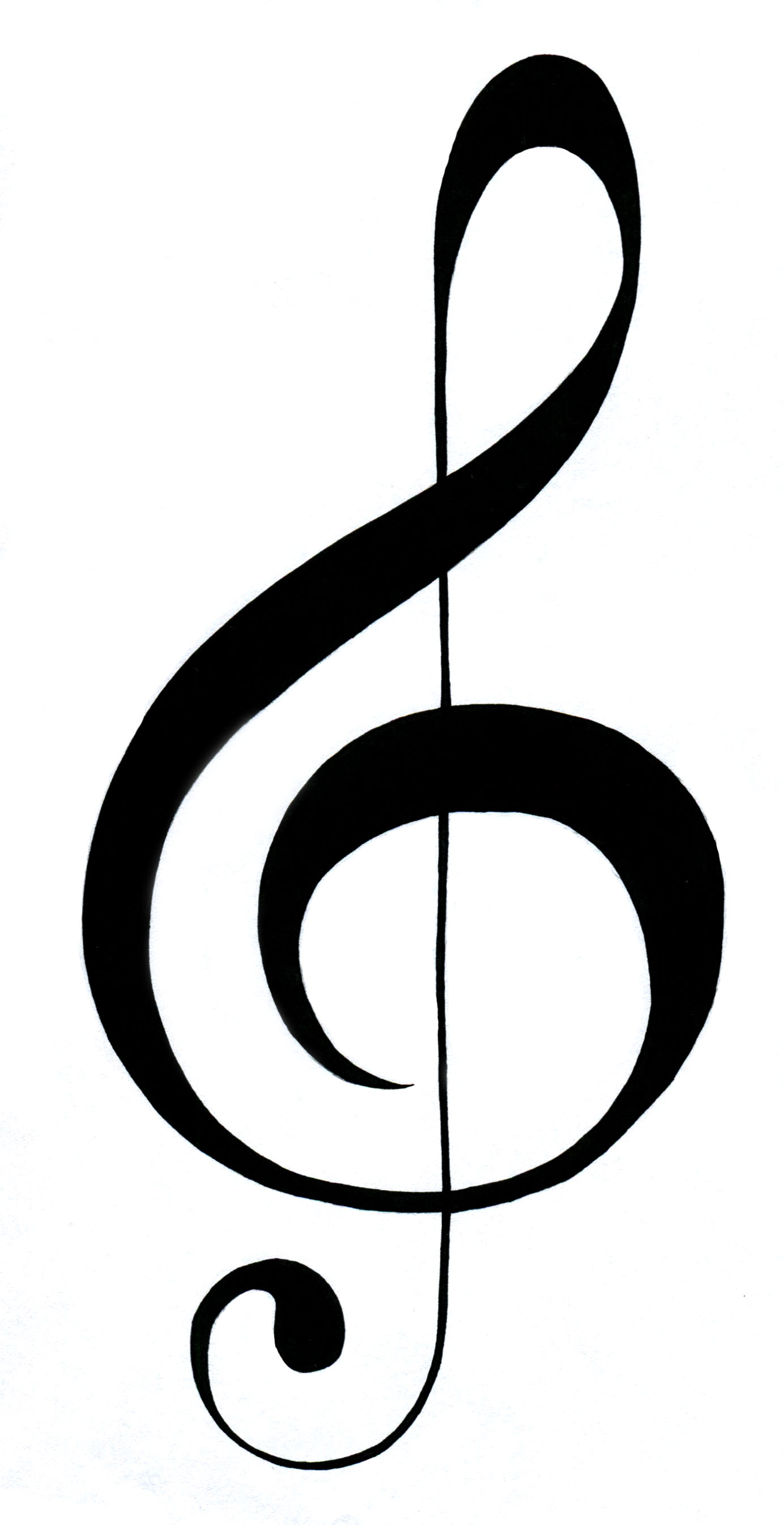 Clef clipart.