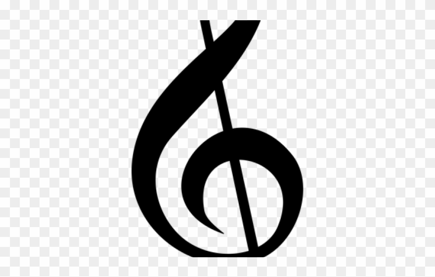 Sheet Music Clipart Symbol Clear Background.