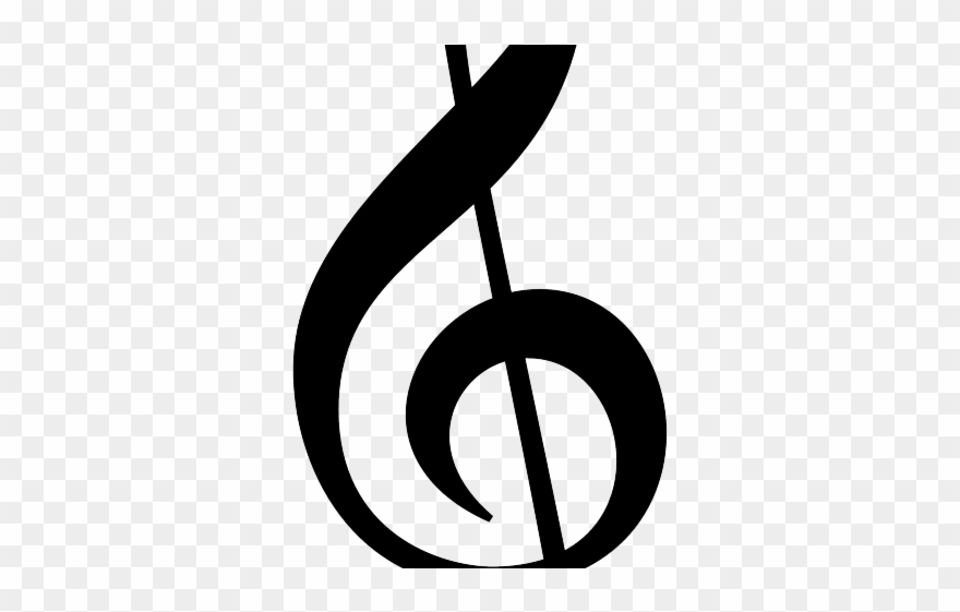 Treble Clef Cliparts.