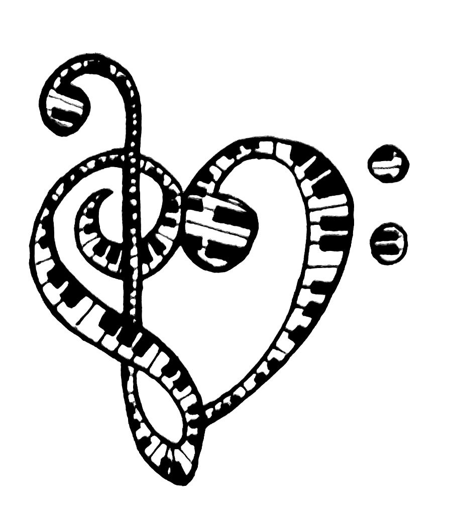 Treble Clef Bass Clef Tattoo.