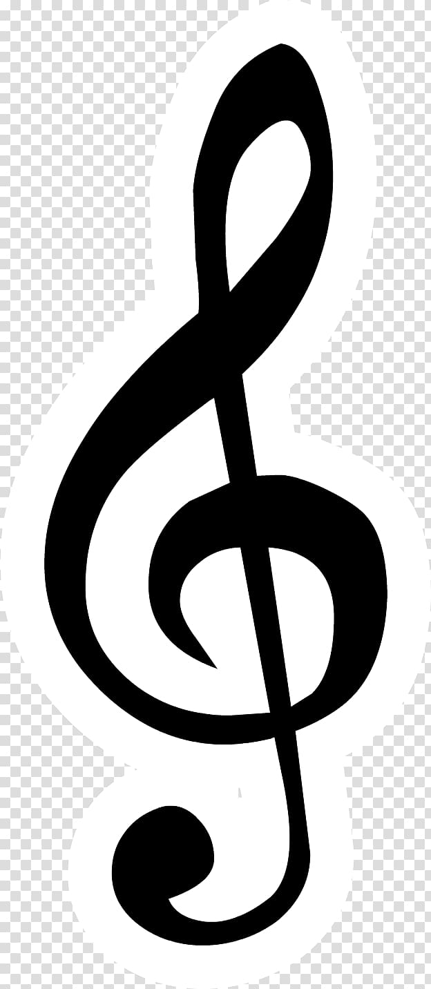 Clef Treble Bass , note clef transparent background PNG.
