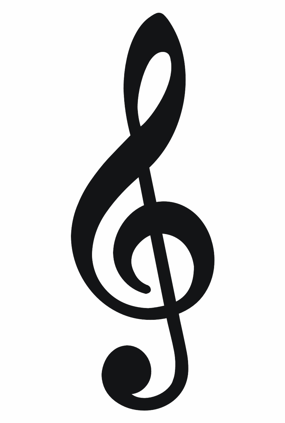 Musical Note Note Treble Key Png Image.