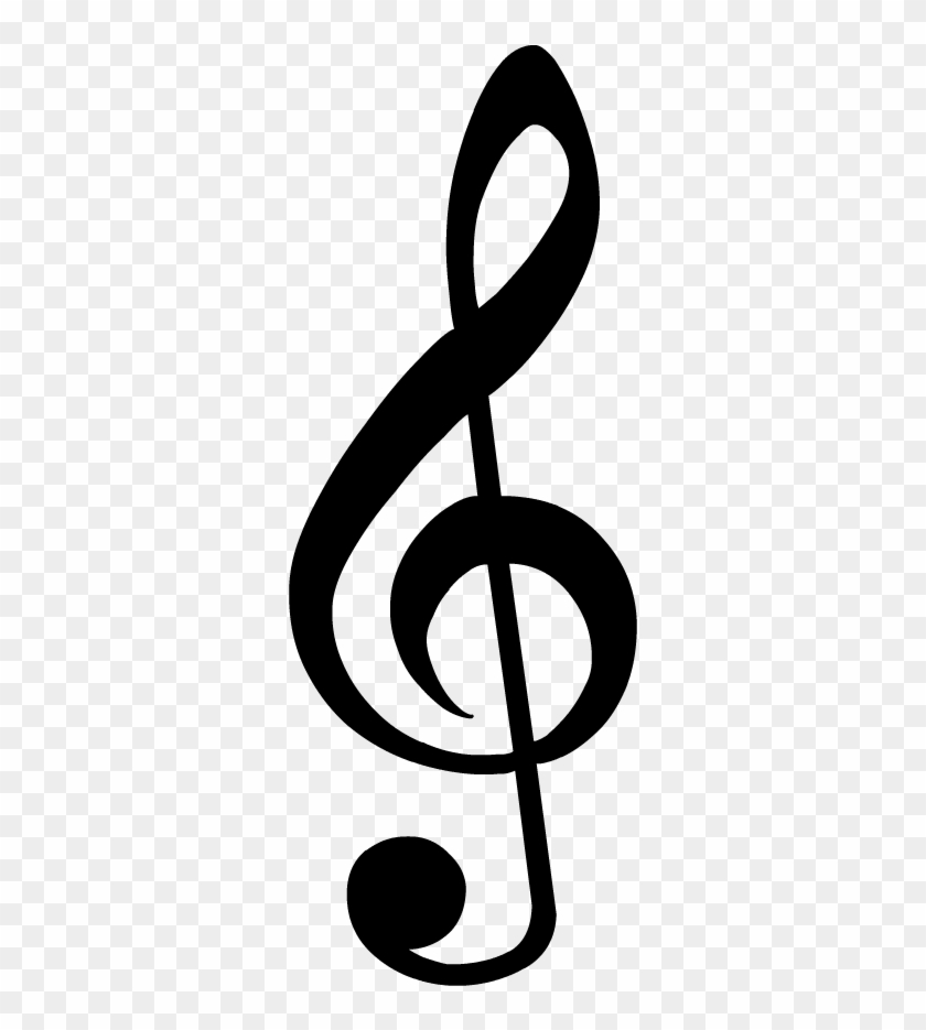 Treble Clef, HD Png Download.