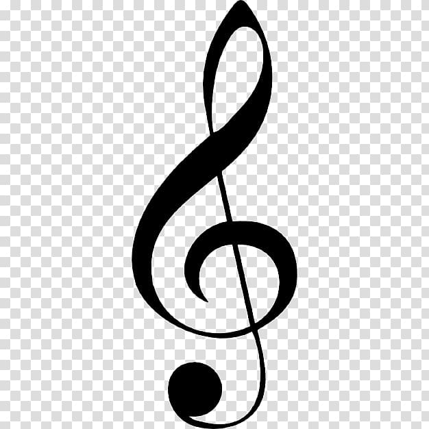 G Clef illustration, Clef G Treble Musical note, Clef Note.