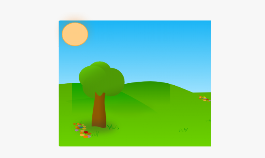 Trees Clipart Grass.