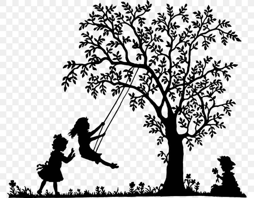 Swing Tree Clip Art, PNG, 773x640px, Watercolor, Cartoon.