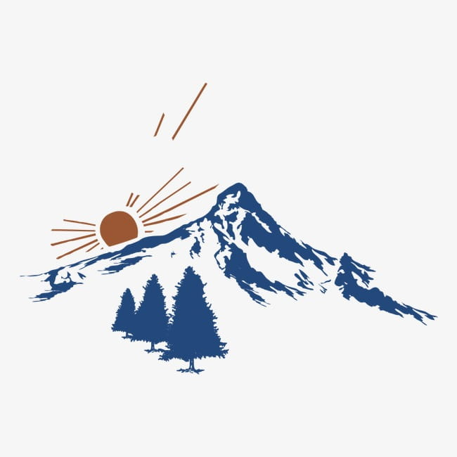 Mountain PNG clipart.
