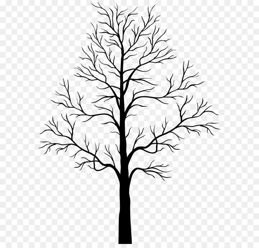 Tree Silhouette Clip Art.