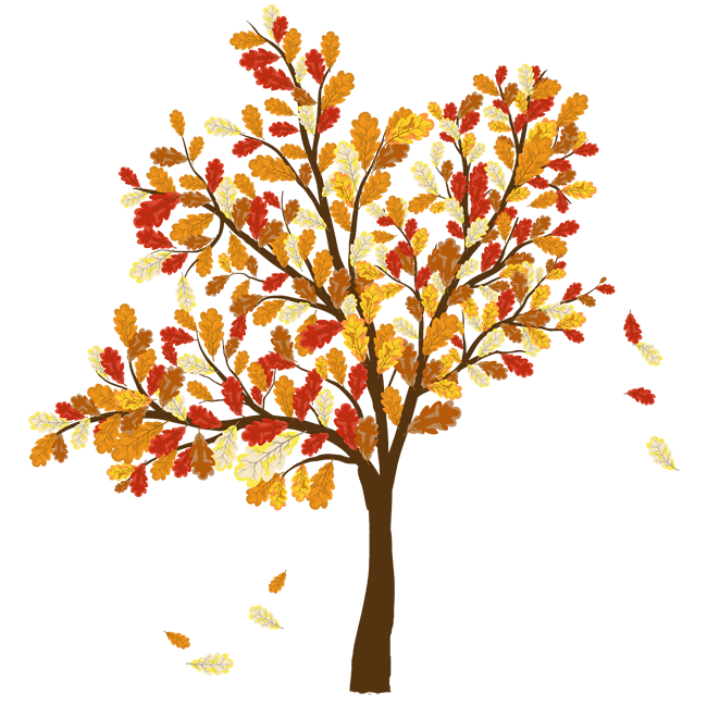 Tree fall clipart.
