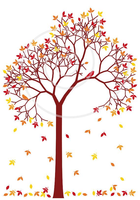 november tree clipart #17