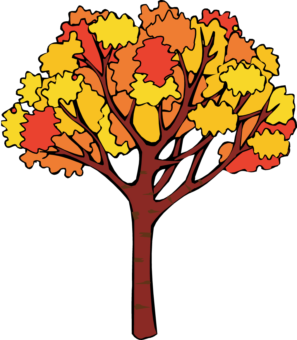 Tree fall clipart.