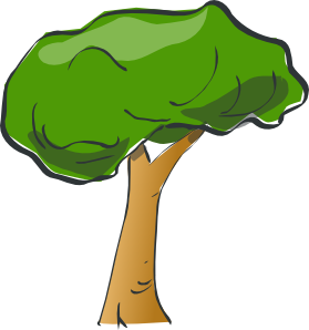 Tree Clip Art Transparent Background.