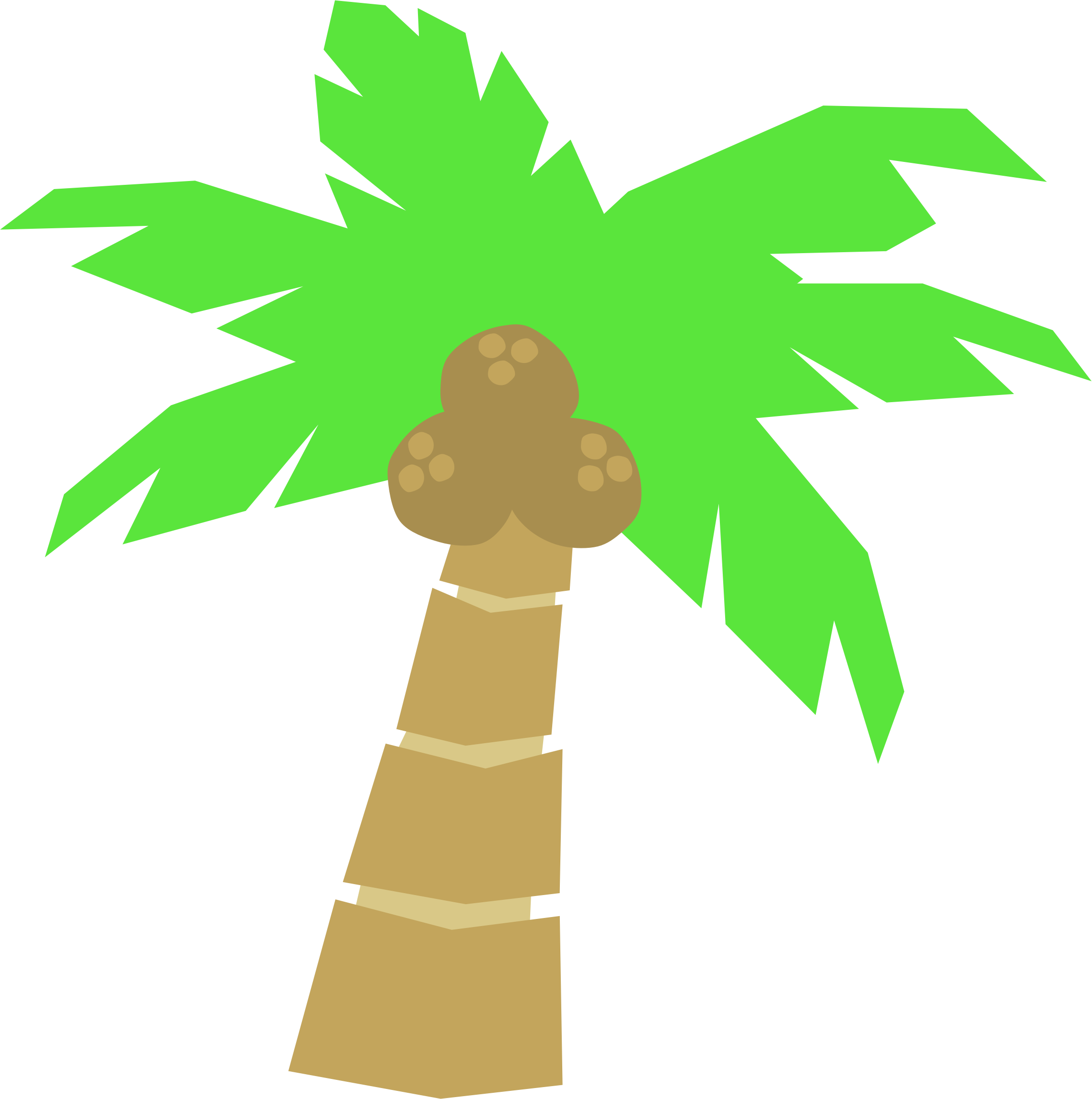 Palm tree art tropical palm trees clip art clip art palm tree 5 3.