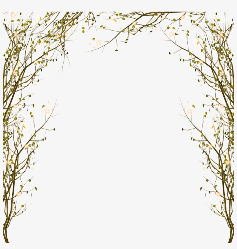 Download Tree Branch Border Png Clipart Branch Clip.