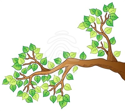 Clip Art Tree Branches.