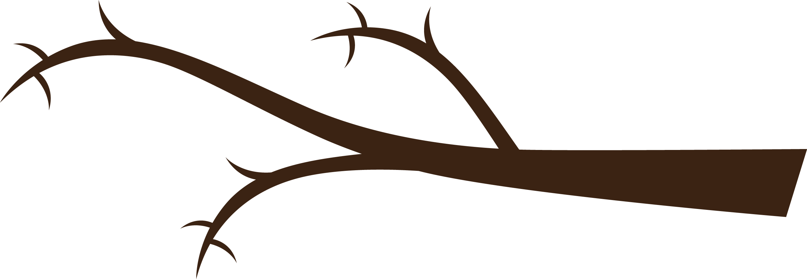 Collection of Tree branch clipart.