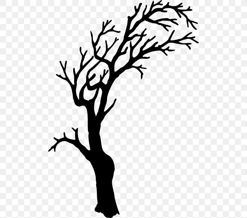 Tree Silhouette Branch Clip Art, PNG, 500x723px, Tree, Area.