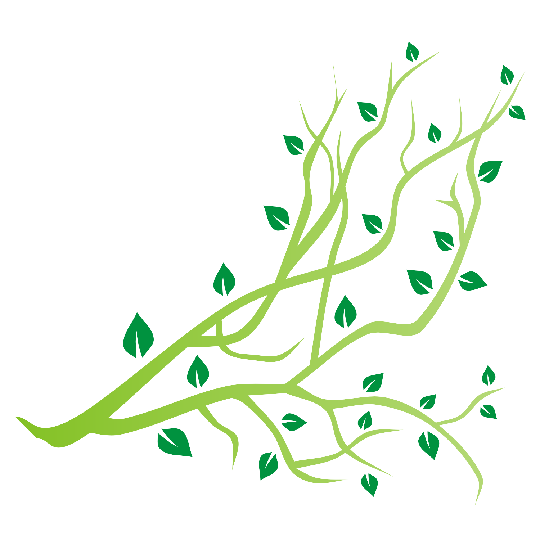 Tree branch vector.