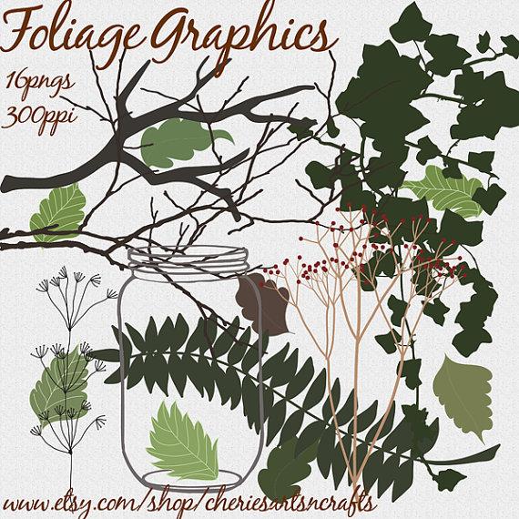 Foliage Graphics, Plants, Tree Branch Clip Art, Tree.