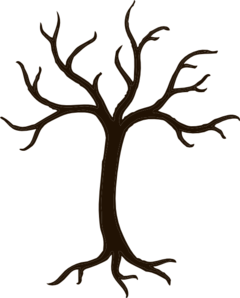 Tree branches clip art.
