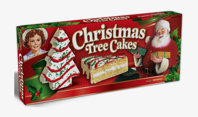 Little Debbie Christmas Tree Cakes Transparent PNG.