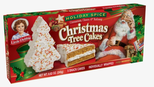 Little Debbie Holiday Spice Christmas Tree Cakes, HD Png.